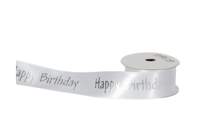 Spyk Geschenkband Cubino Happy Birthday