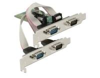 Delock 89557 PCI Express Karte 4x Seriell