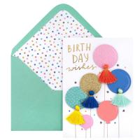 American Crafts 3D-Karte Birtday Wish
