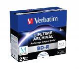 Verbatim BD-R M-DISC 25GB 5er P