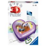 Puzzle Herz Pferde20