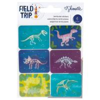 American Crafts Sticker Dinosaurier