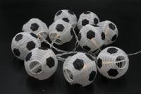 Dameco LED Lichterkette Fussball 1.8m