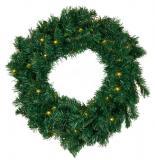 Sirius LED Weihnachtskranz grün