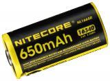 NiteCore 16340 USB Akk 650mAh NL1665r