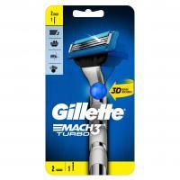 Gillette Mach3 Turbo 3D Rasierer 2 Kl