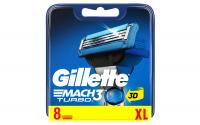 Gillette Mach3 Turbo 3D Klingen 8er
