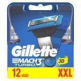 Gillette Mach3 Turbo 3D Klingen 12er