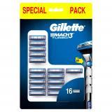 Gillette Mach3 Turbo 3D Klingen 16er