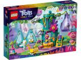 Lego Trolls Party in Pop City