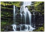 Cart Glückwunschkarte Wasserfall