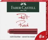 Faber-Castell Tintenpatrone 6 Stück