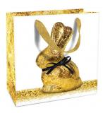 B+C Geschenktasche Ostern Golden Bunny