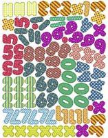 Ursus Haftmagnet Zahlen und Symbole