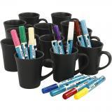 Creativ Company Tassen schwarz Grosspackung