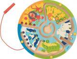 Goki Magnetlabyrinth Zählen Lernen im Zoo