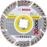 BOSCH X-LOCK Diamanttrennscheibe 125 mm