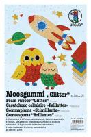URSUS Moosgummi-Set Glitter Klassik