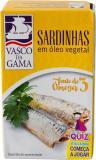 Sardinhas em óleo vegetal-Planzenöl