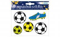 Herma Reflektor-Sticker Fussball