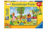 Puzzle Familientag in der Natur