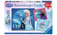 Puzzle DFZ: Elsa, Anna & Olaf