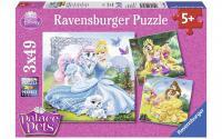 Puzzle DPP: Belle+Cinderella+Rapunzel