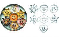 Ibili Ausstechformen Set Smiley