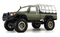 RCX10PS Scale Crawler Militär