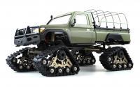RCX10PTS Scale Crawler Militär grau