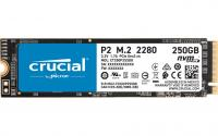 Crucial SSD P2 250GB, M.2 NVMe PCIe Gen3 x4