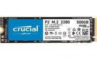 Crucial SSD P2 500GB, M.2 NVMe PCIe Gen3 x4