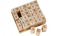 Creativ Company Stempel Buchstaben Zahlen