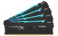 HyperX FURY RGB DDR4 128GB 4-Kit 3000MH
