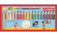 STABILO Woody 3 in 1 Malstift