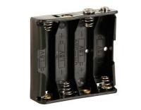 Velleman BH341B Batteriehalter 4x AA