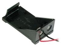 Velleman BH9V Batteriehalter 1x 9V Block