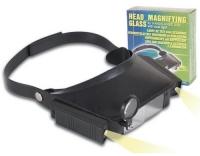 Velleman VTMG6 Kopfbandlupe mit Doppellicht