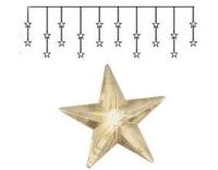 Star Trading Lichtervorhang Stern, 20 LED