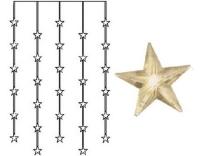 Star Trading Lichtervorhang Stern, 30 LED
