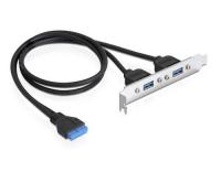 Delock 82963 Slotblech USB 3.0 Pin Header