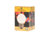 LED Mini Lampe weiss, E27, 230V