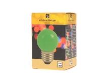 LED Mini Lampe grün, E27, 230V