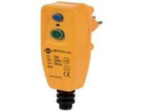 Personenschutz FI-Stecker IP54, 230V / 10A