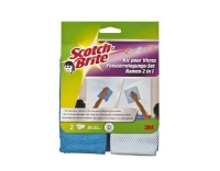 3M Scotch-Brite Mikrofaser Fenster Set