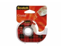 3M Scotch Crystal 19mm x 25m kristallklar