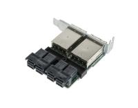 Supermicro AOM-SAS3-16i16e-LP:SFF8643-8644