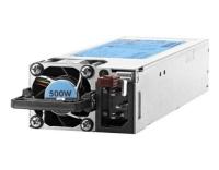 HP Netzteil, hotpluggable, 500W Platinum