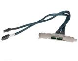 Supermicro CBL-0168L: SFF8087-SFF8088, 62cm