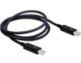 DeLock Thunderbolt Kabel 1.0 m, schwarz